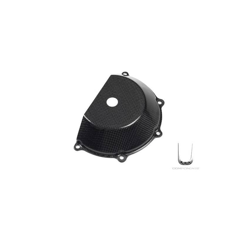 LEA0010 Carbon slotted clutch cover Ducati Hypermotard -5%