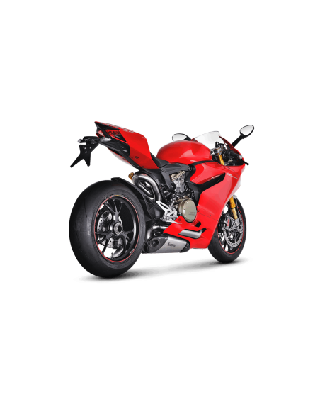 S-D11E1-T_2 Akrapovic Evolution line full exhaust system titanium with carbon end cap not approved Ducati Panigale 1199 R 201...