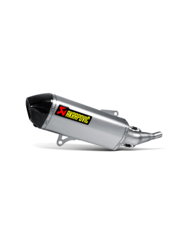 Akrapovic slip-on silencer stainless-steel with carbon end cap approved Yamaha X-City250 2007-2016 S-Y2SO7-HRSS_1