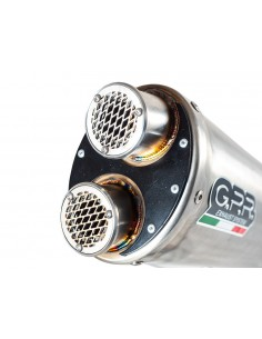 GPR YA.CAT.10.DUAL.IO Motorcycle complete exhaust system